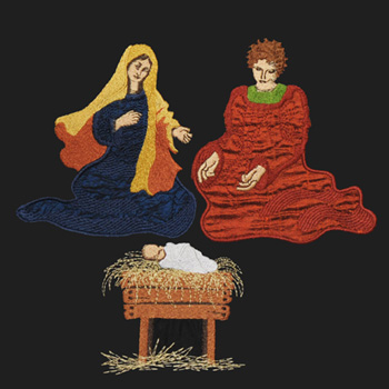 The Holy Family Nativity Series (Large)