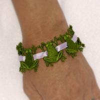 Adorable Frog Beads ( Free Standing Lace)