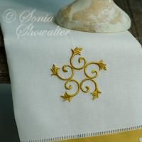 French Cottage Scroll motif