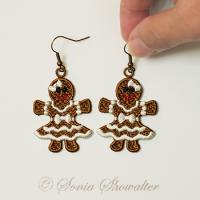 Gingerbread Girls Earrings