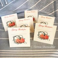 Give Thanks (Place Cards)