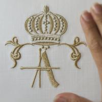 Royal Crowns Alphabet- A