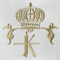 Royal Crowns Alphabet- K