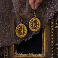 Story Book Earrings-N