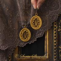 Story Book Earrings-V