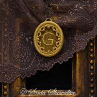 Story Book Pendant - G