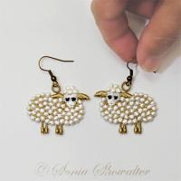Sweet Sheep Earrings
