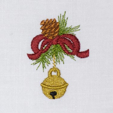 Christmas Pine Jingle Bell ( Small)