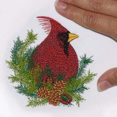 Christmas Pine Cardinal