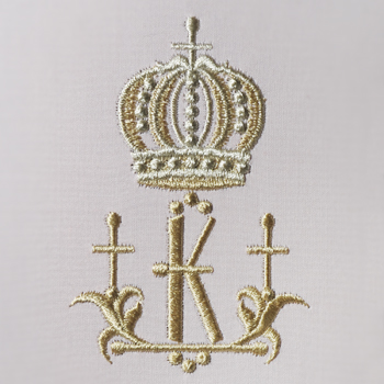 Small Crowns Alphabet- K