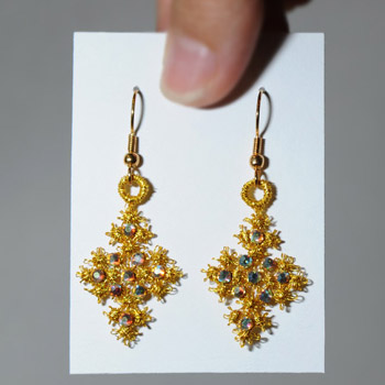Star of Christmas Earrings
