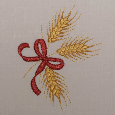 Golden Wheat Sprigs