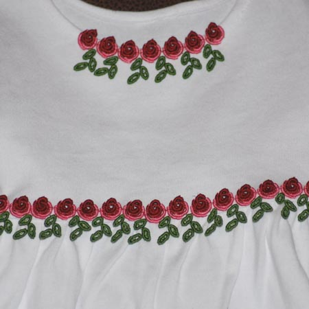 Bullion Rose Trim