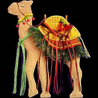 Nativity Camel 2 Applique ( Large)