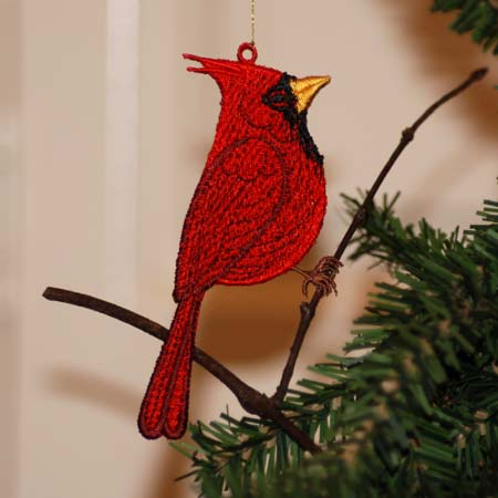 Cardinal ( Free Standing Ornament)