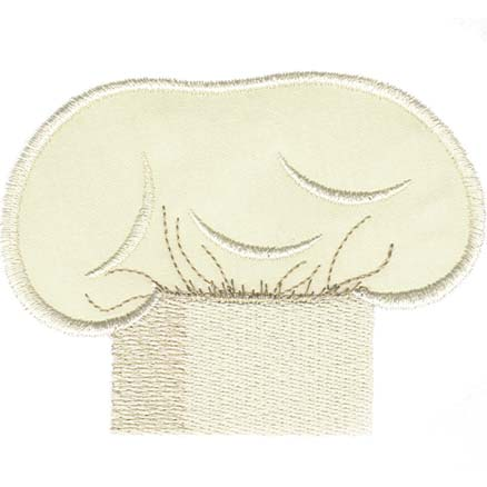 Chef's Hat (applique)