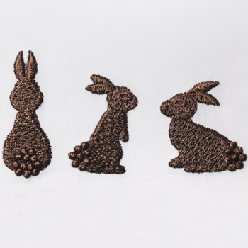 Chocolate Bunnies Morsels