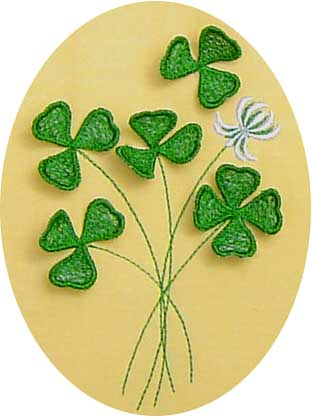 Clover Bouquet 3 Dimensional