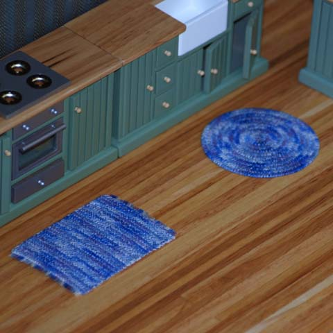 Dollhouse Braided Rugs