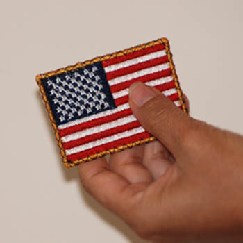 U.S. Flag ( Freestanding Lace)