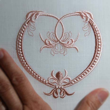 Fleur de Lis Heart