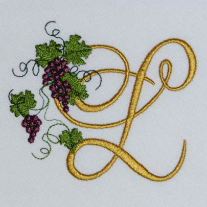 Fruit of the Vine Alphabet- L