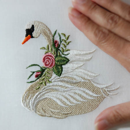 Heirloom Roses Swan