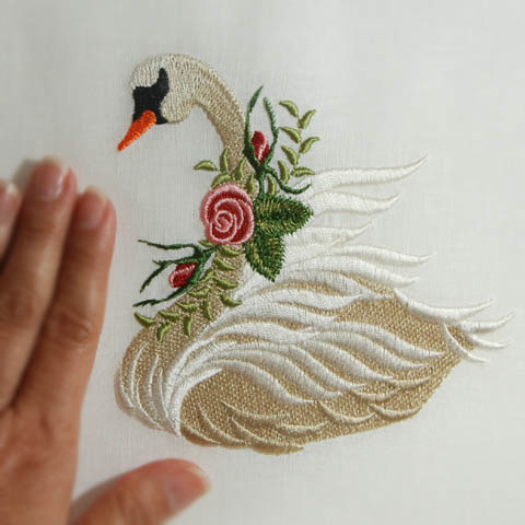 Heirloom Roses Swan ( Large)