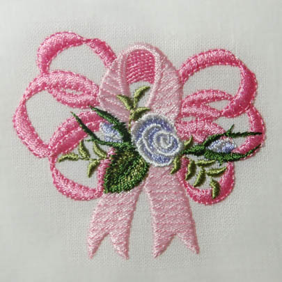 Heirloom Roses Cancer Ribbon
