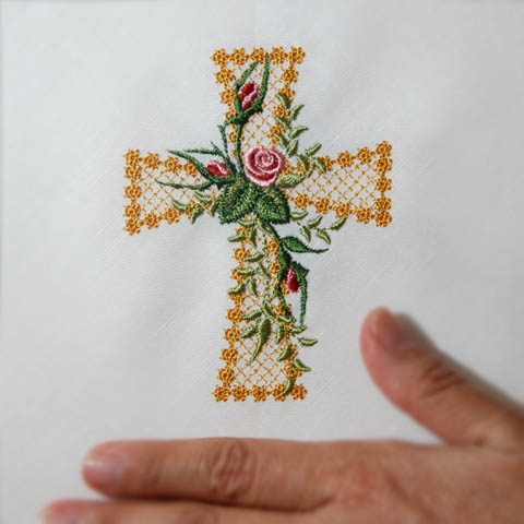 Heirloom Roses Cross