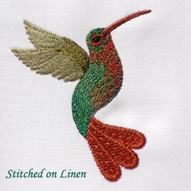 Hummingbird ( For Fabric)