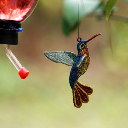 Hummingbird ( Free Standing Ornament)