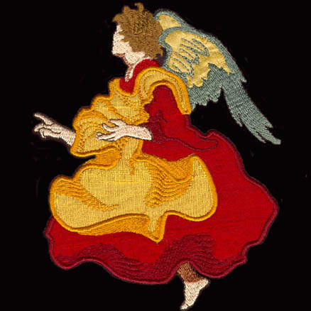 Nativity Angel * Alleluia