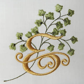 Maidenhair Fern Alphabet- E