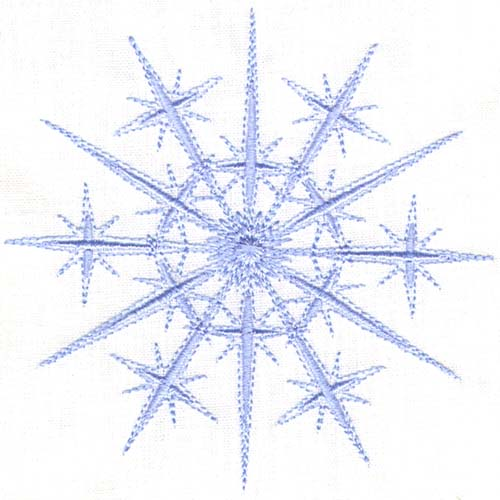 Nativity Star Snowflakes