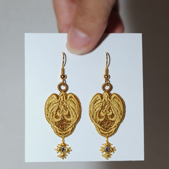 Angel of Light Earrings II
