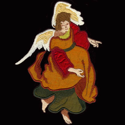 Nativity Angel * Peace and Good Will