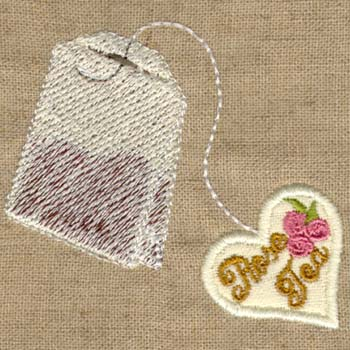 Tea Bag ( With Heart)