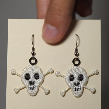 Skull & Cross Bones Earrings
