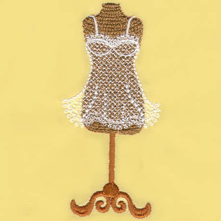 Dress Form with Slip