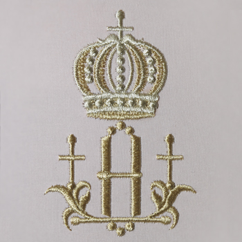 Small Crowns Alphabet- H