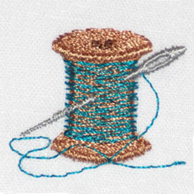 Thread Spool & Needle