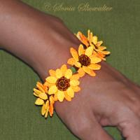 Sunflower Beads ( Free Standing Lace)
