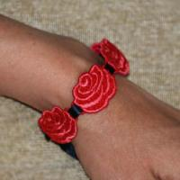 Rose Beads ( Free Standing Lace)