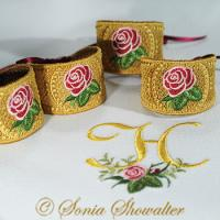Heirloom Roses Napkin Ring