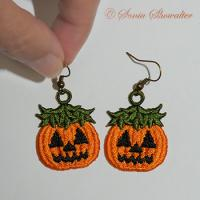 Jack-O'-Lantern Earrings