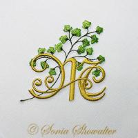 Maidenhair Fern Alphabet- Mc