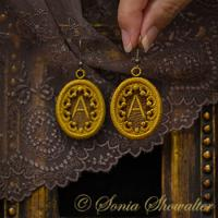 Story Book Earrings-A