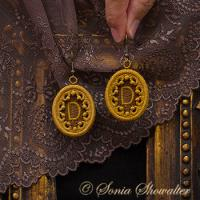 Story Book Earrings-D