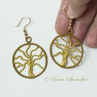 Tree of Life Earrings (Medium)